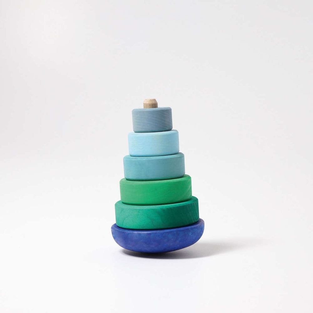 Wobbly Conical Tower - Blue