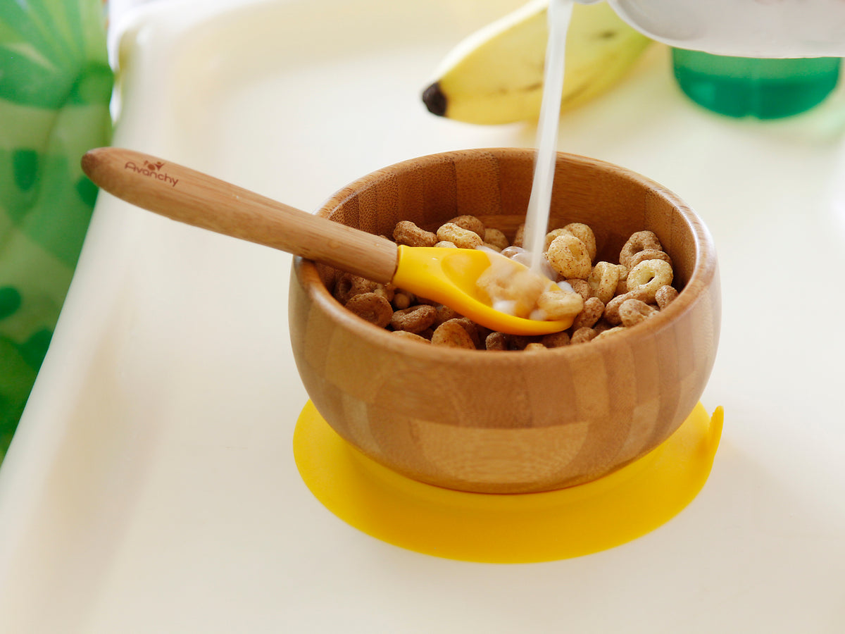 Bamboo Suction Bowl & Spoon