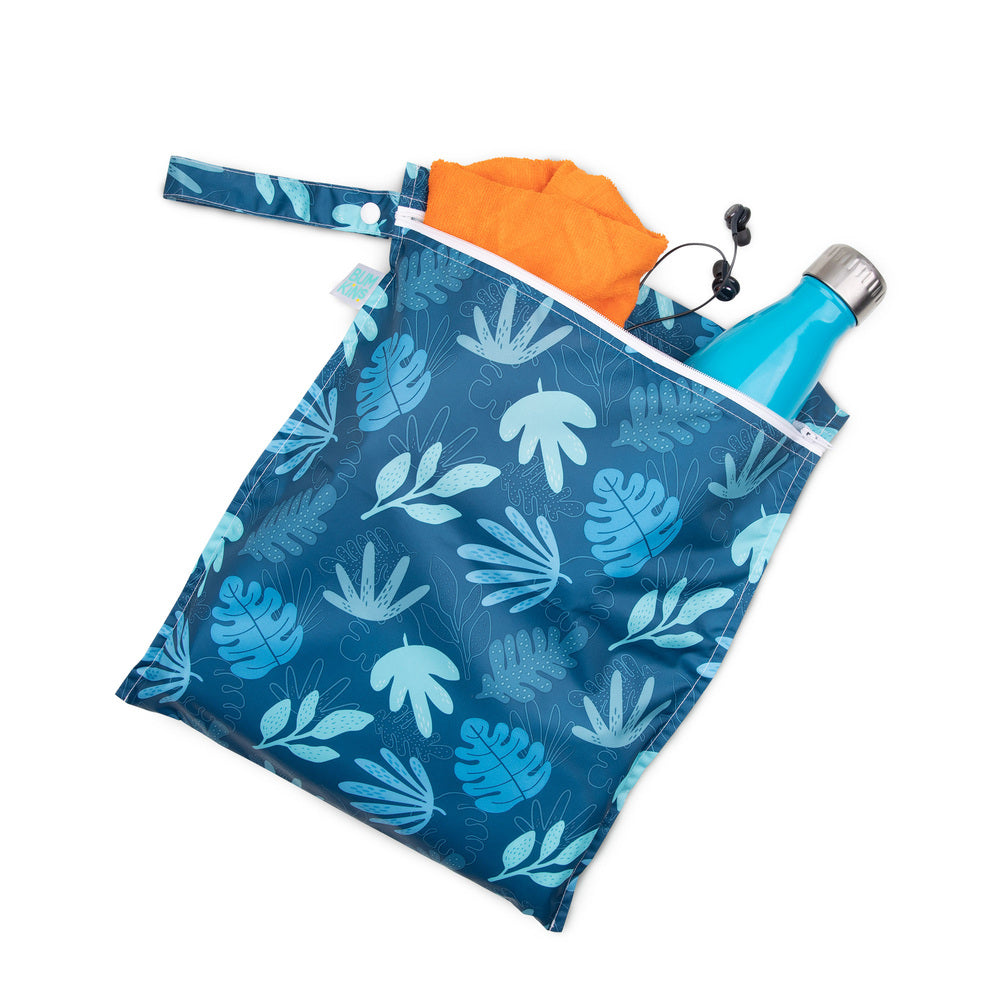 Wet Bag | Blue Tropic