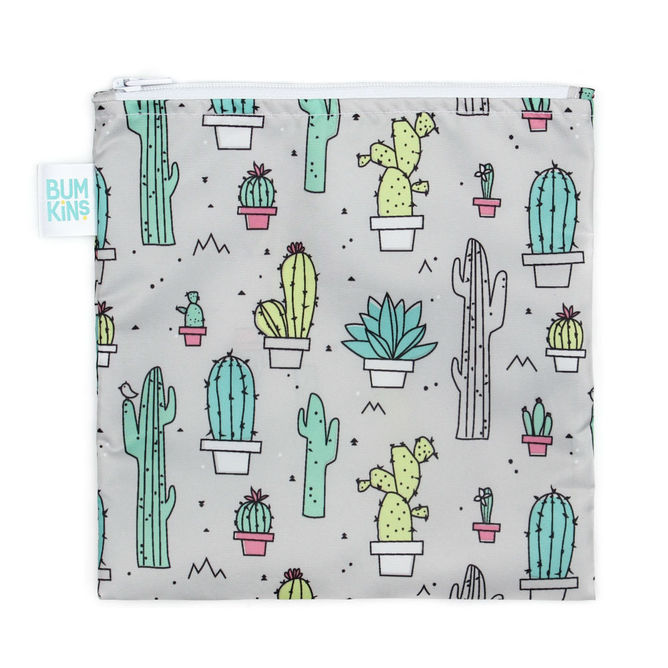 Large Snack Bag - Cacti