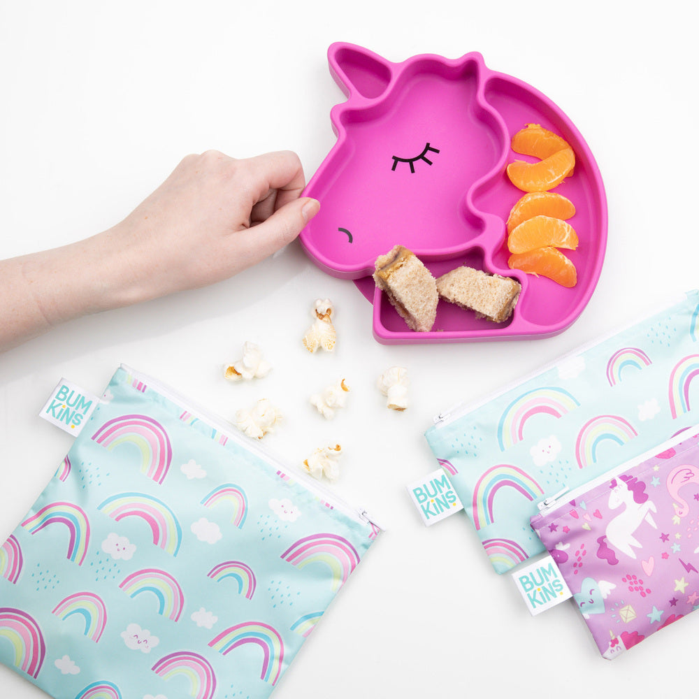 Snack Bag | Unicorn & Rainbows - Small 2pk