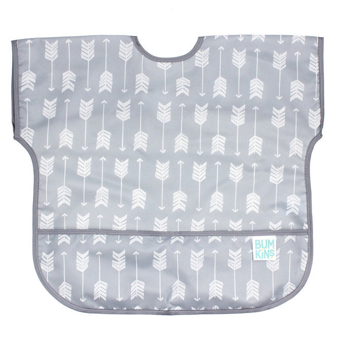 Junior Bib | Grey Arrow
