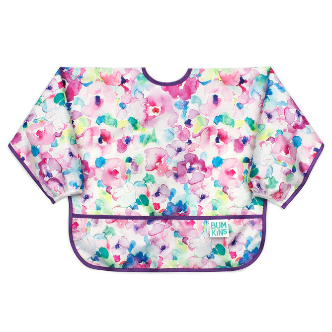 Sleeved Bib | Watercolour