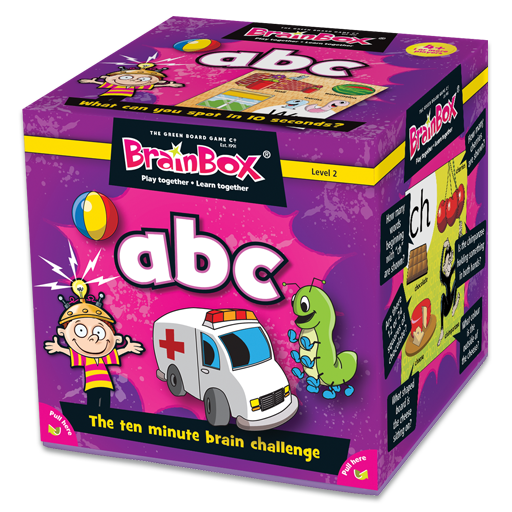 BrainBox | ABC - Level 2 (Age 4+)