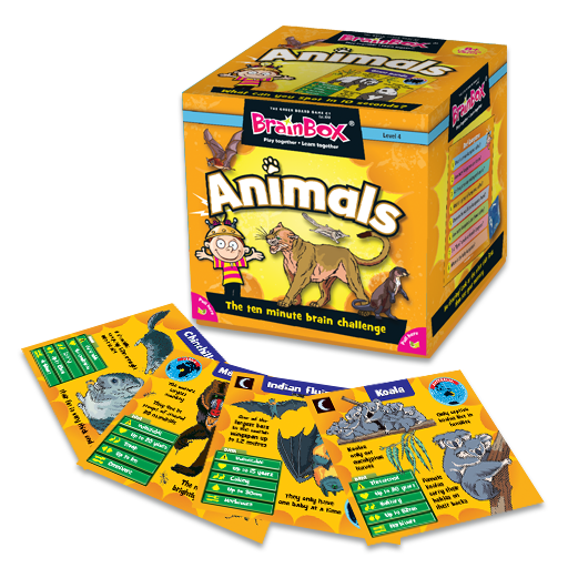 BrainBox | Animals - Level 4 (Age 8+)