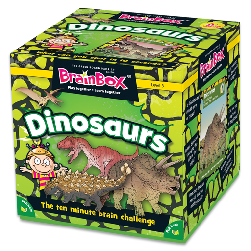 BrainBox | Dinosaurs - Level 3 (Age 5+)