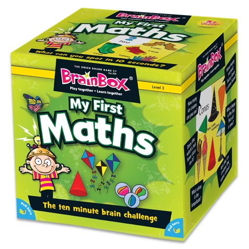 BrainBox | My First Maths - Level 3 (Age 5+)