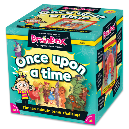 BrainBox | Once Upon a Time - Level 3 (Age 6+)