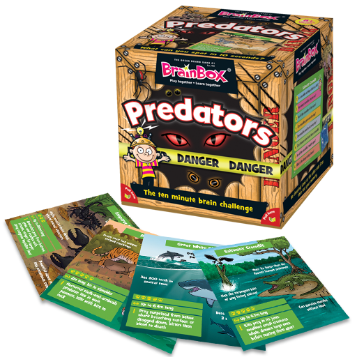 BrainBox | Predators - Level 5 (Age 8+)