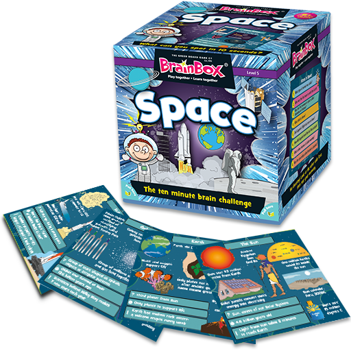 BrainBox | Space - Level 5 (Age 8+)