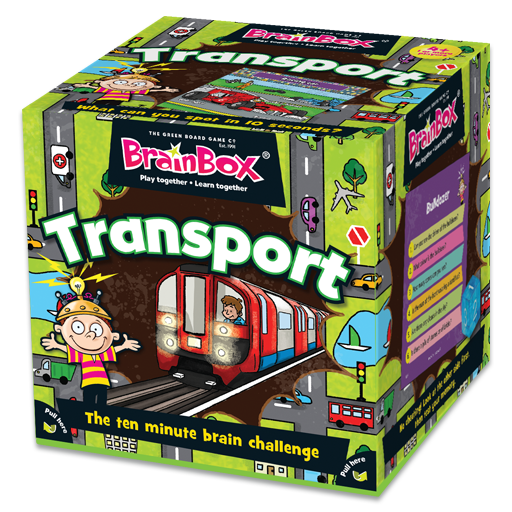 BrainBox | Transport - Level 2 (Age 4+)
