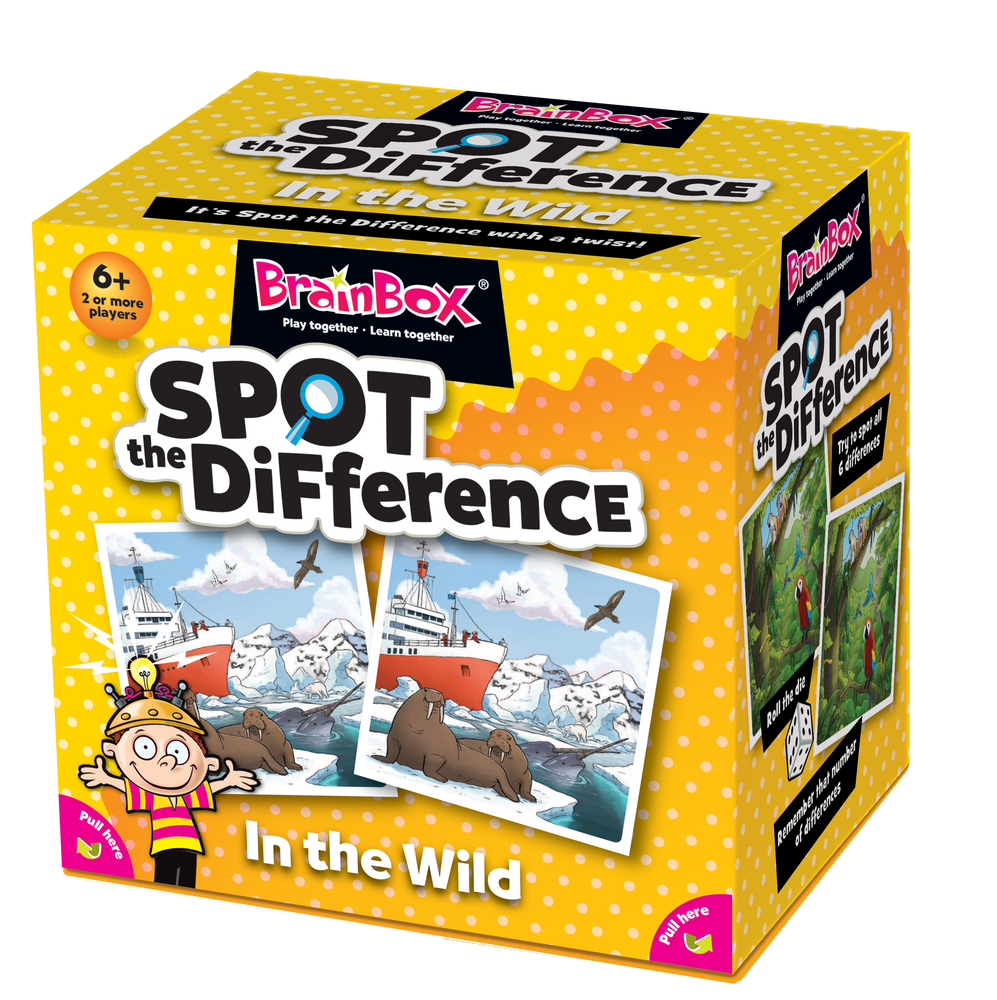 BrainBox | Spot the Difference - In the Wild