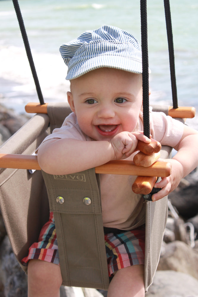 Baby & Toddler Swing | Classic Taupe