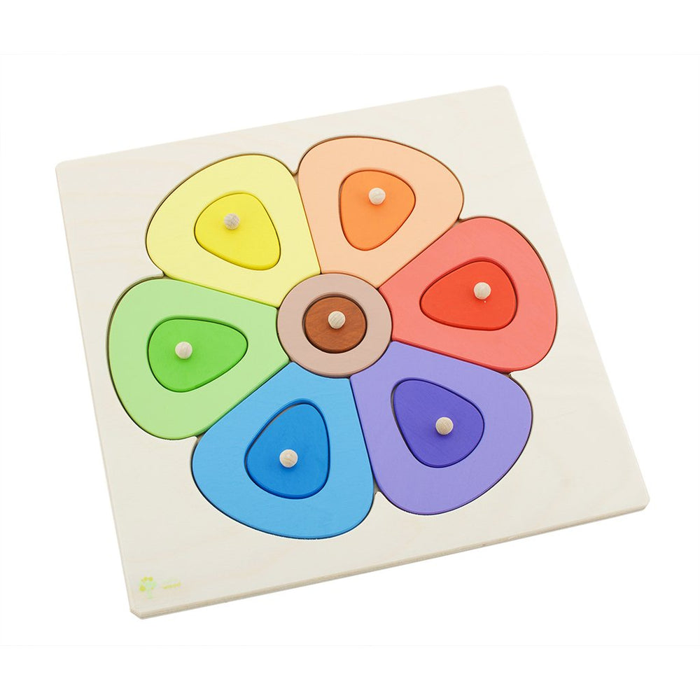 Wooden Flower Puzzle | Small
