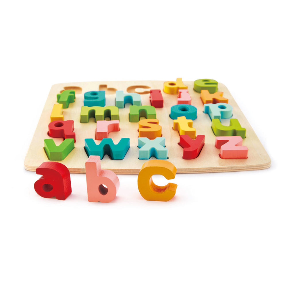 Chunky Wooden Alphabet Puzzle - abc