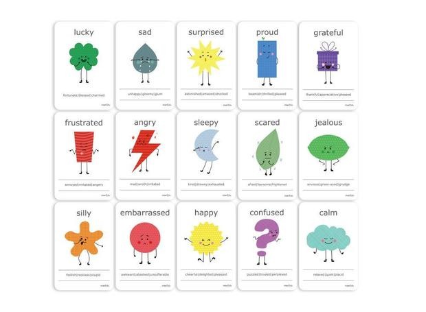 Cognitive Flash Cards - Feelings & Emotions