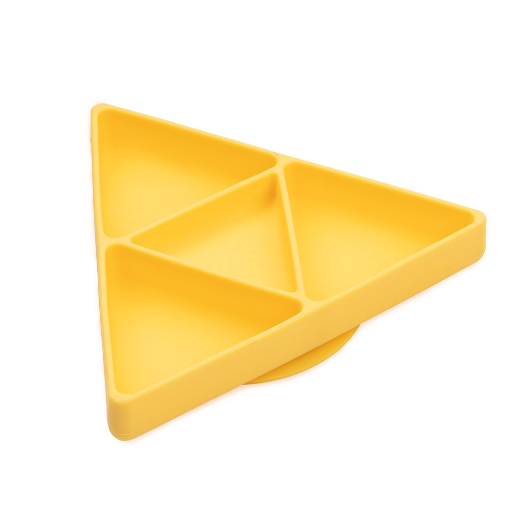 Silicone Grip Dish | Zelda Tri-Force