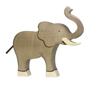 Elephant (trunk raised)