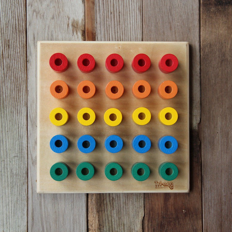 Build Up Wooden Peg Board - Replacement Pegs