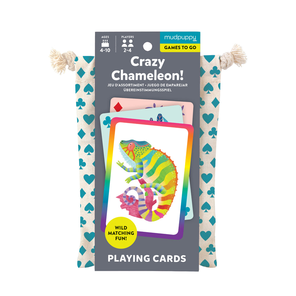 Playing Cards - Crazy Chameleon!