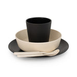 Bamboo Dinner Set - Monochrome
