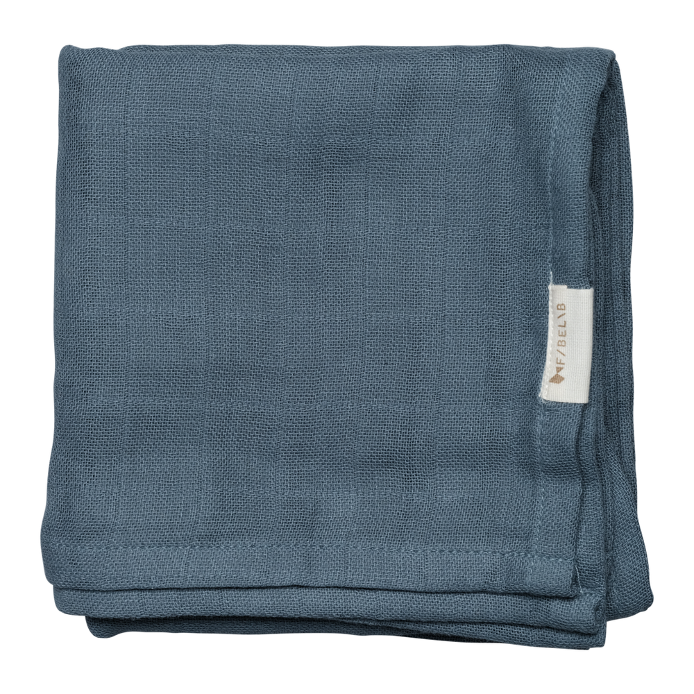 Muslin Cloth | Sea - 2pk