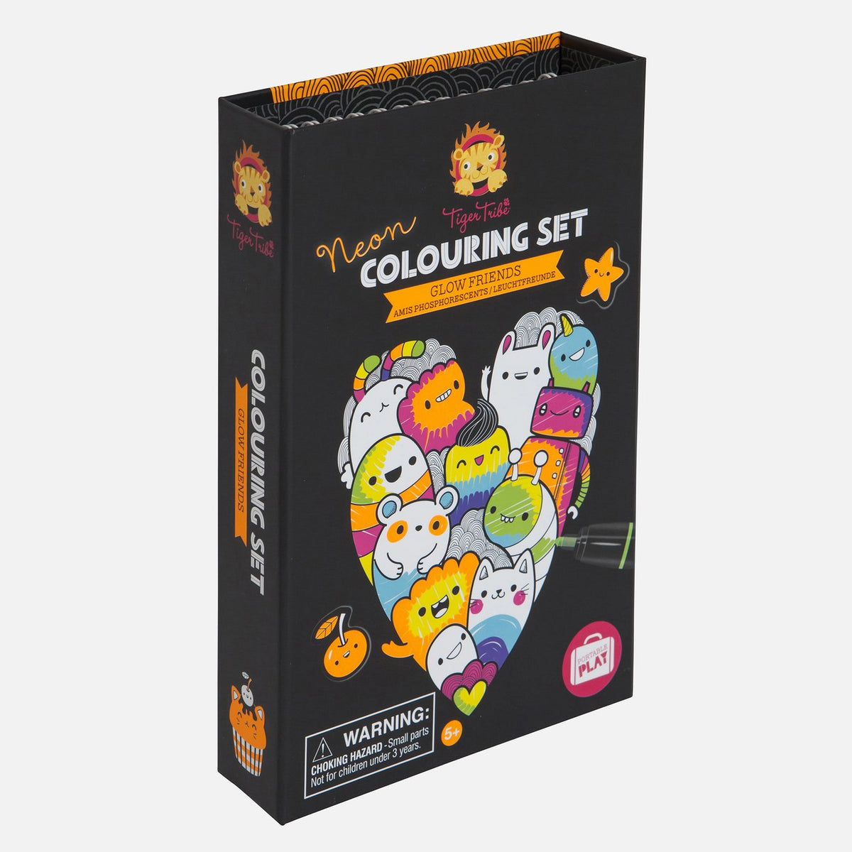 Colouring Set - Neon Glow Friends