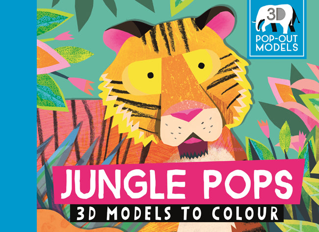 Jungle Pops - 3D Models to Colour