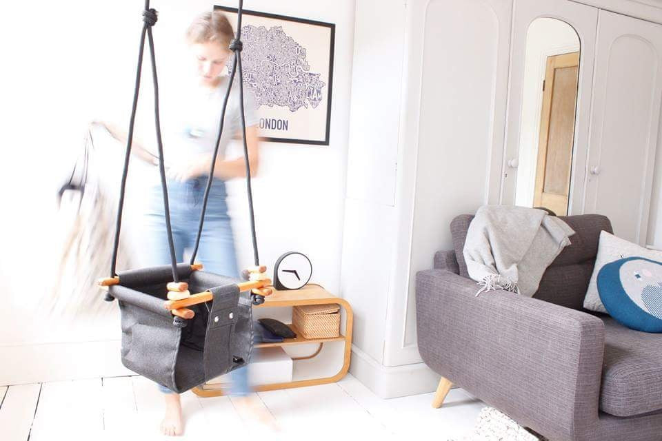 Baby & Toddler Swing | Smokey Grey