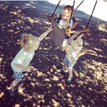 Baby & Toddler Swing | Coral Black