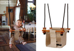 Baby & Toddler Swing | Soft Linen