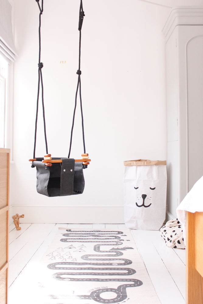Baby & Toddler Swing | Slate Grey