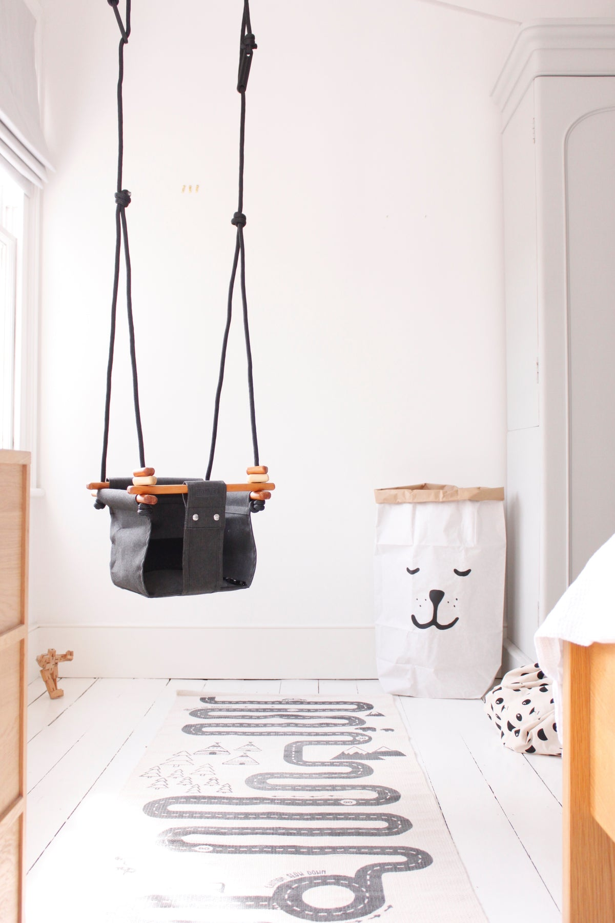 Baby & Toddler Swing | Kowhai Yellow