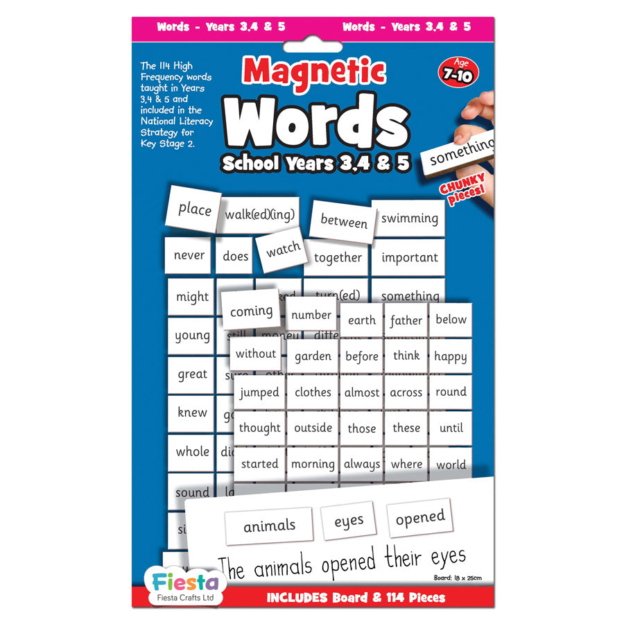 Magnectic Words | School Years 3, 4 & 5