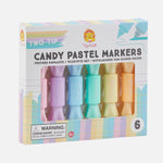 Two-Tip Candy Pastel Markers - 6pk