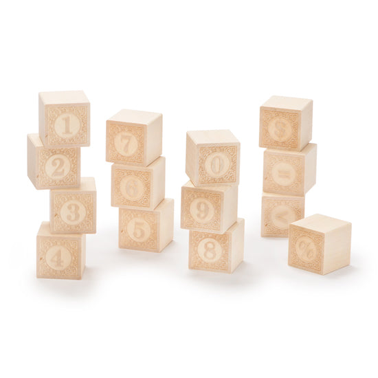 Wooden Blocks | Natural Numbers - 14 pc