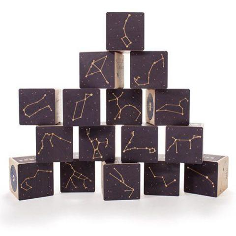 Constellations Wooden Blocks