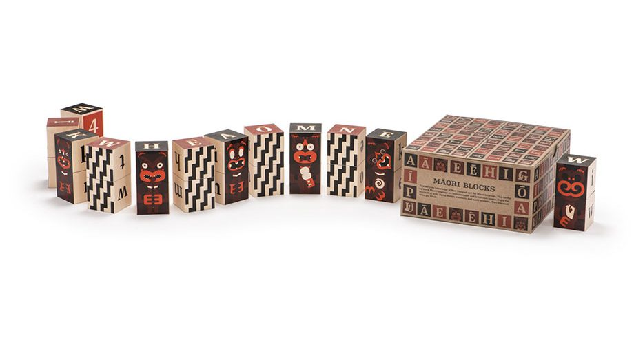 Wooden Blocks | Māori - 24 pc