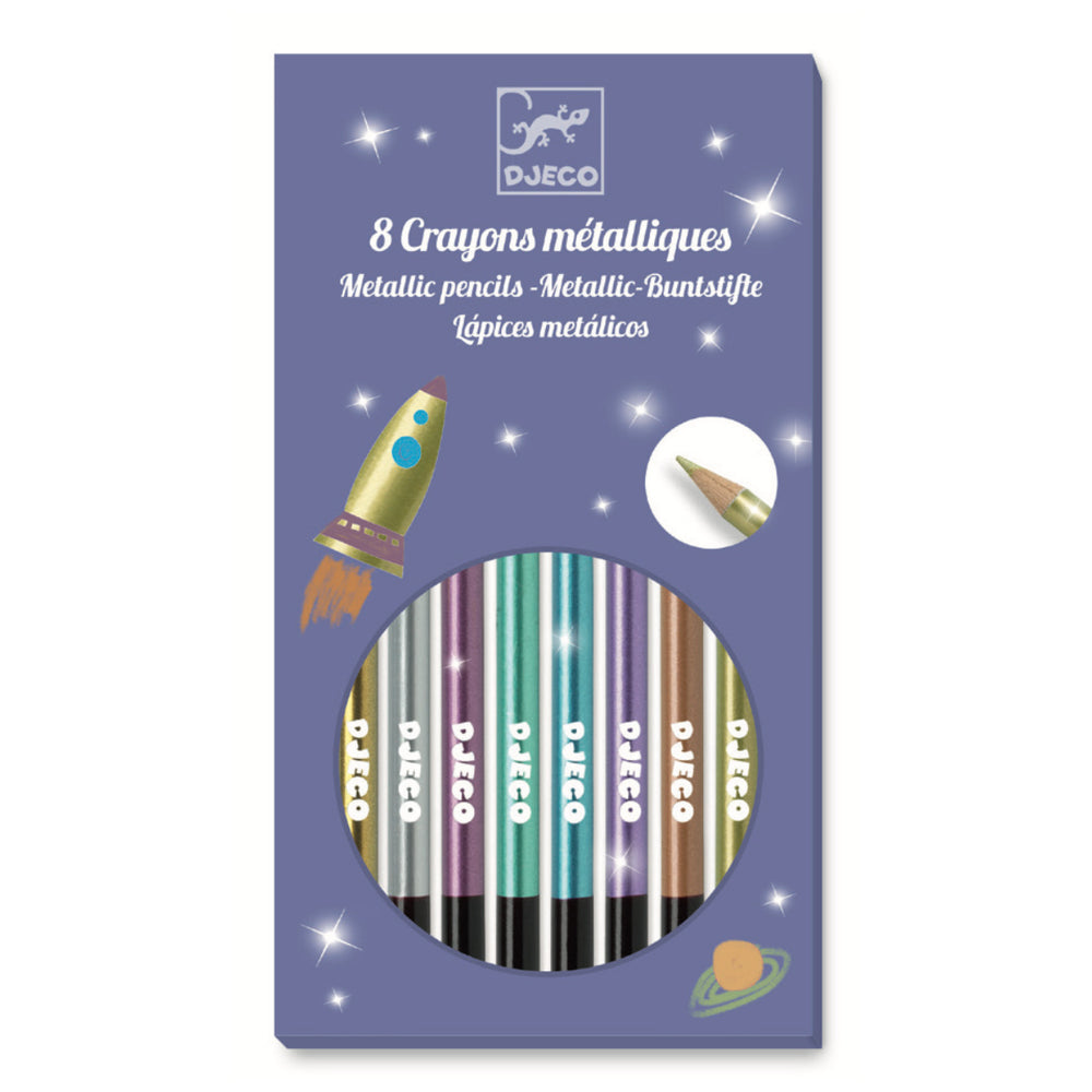 Metallic Pencils | 8pk