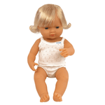 Anatomically Correct Baby Doll | 38cm - Caucasian Girl