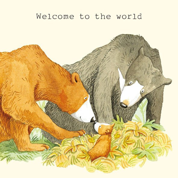 Welcome to the World - Card