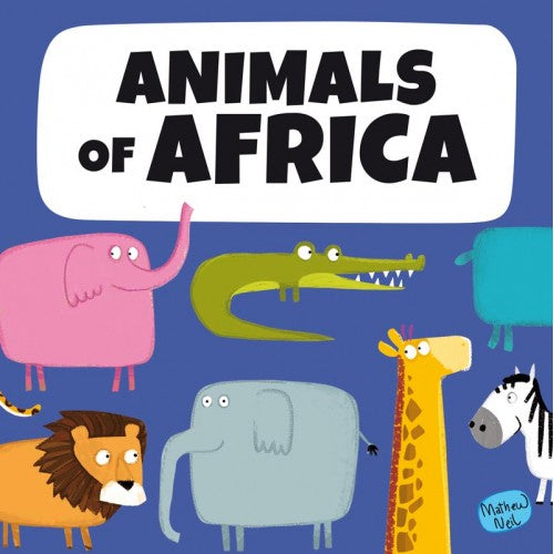 Book & Giant Puzzle 30 pcs - Animals of Africa
