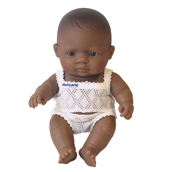 Anatomically Correct Baby Doll | 21cm - Hispanic Girl