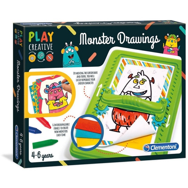 Play Creative - Monster Drawings