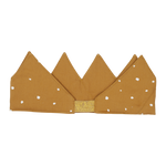 Fabric Crown - Ochre Spot
