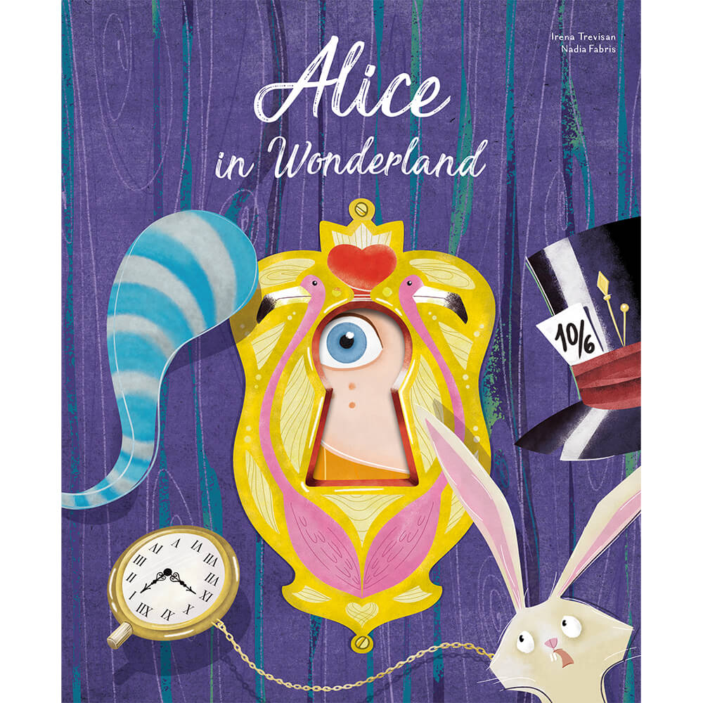 Die Cut Book | Alice in Wonderland