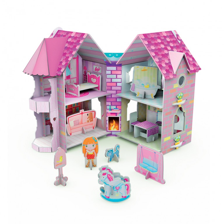 3D Dolls' House & Book