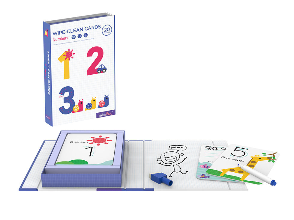 Wipe Clean Activity Set - Numbers