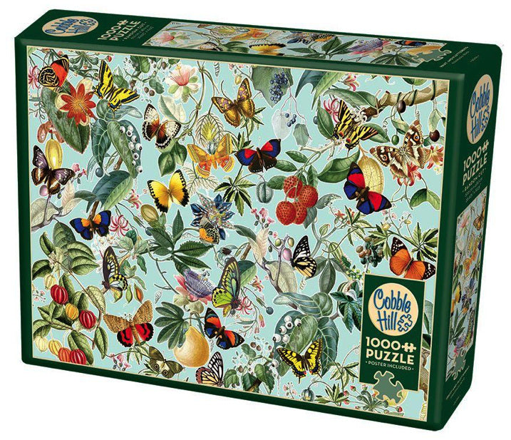 1000pc Fruit and Flutterbies Puzzle