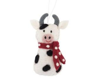 Hanging Decoration | Cow with Scarf
